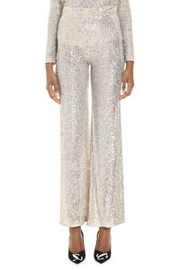 Sequin palazzo pants, Wide leg pants L'Autre Chose woman