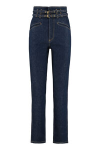 Stretch denim trousers, Straight Leg Jeans Philosophy di Lorenzo Serafini woman