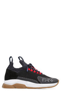 Cross Chainer sneakers, Low Top Sneakers Versace man