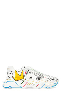 Daymaster leather low-top sneakers, Low Top Sneakers Dolce & Gabbana man