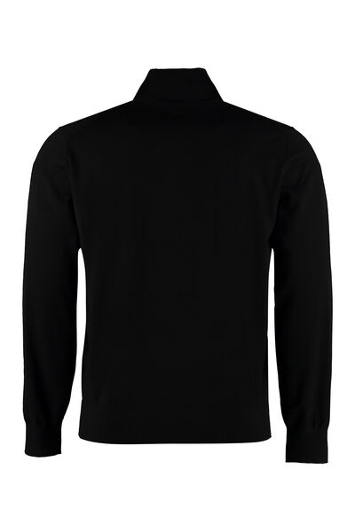 Turtleneck wool pullover