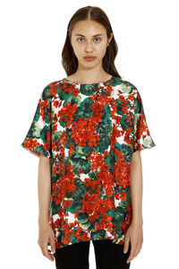 Portofino print silk top, Printed tops Dolce & Gabbana woman