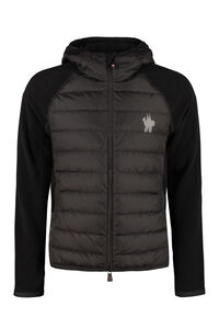 Full zip hoodie, Zip through Moncler Grenoble man
