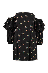 Bethany off-the-shoulder dress, Mini dresses ROTATE Birgerchristensen woman
