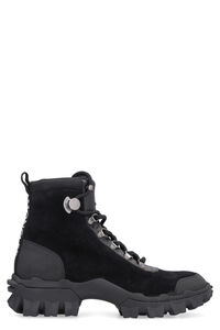 Helis sude lace-up boots, Ankle Boots Moncler woman