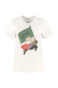Babar King print cotton t-shirt, T-shirts Lanvin woman