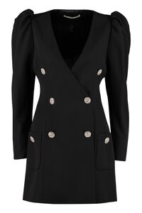 Embellished buttons blazer dress, Mini dresses Alessandra Rich woman