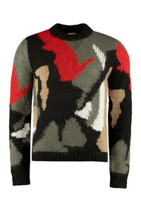 Long sleeve crew-neck sweater, Crew necks sweaters Saint Laurent man