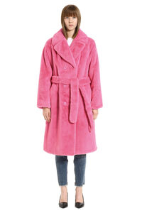Faustine faux fur coat, Faux Fur and Shearling Stand Studio woman