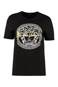 Cotton crew-neck T-shirt, T-shirts Versace woman
