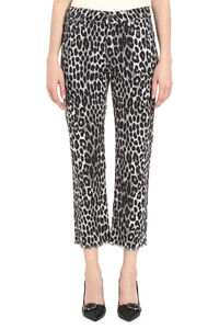 Leopard print cropped jeans, Cropped Jeans MICHAEL MICHAEL KORS woman