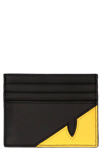 Leather card holder, Wallets Fendi man