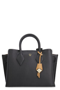 Neo Milla leather handbag, Top handle MCM woman