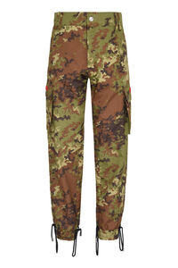 Camouflage cargo trousers, Casual trousers GCDS man