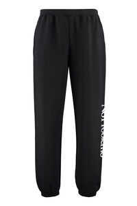 Stretch cotton track-pants, Track Pants Aries man