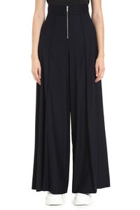 Wool blend trousers, Wide leg pants Maison Margiela woman