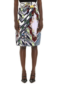 Printed pleated skirt, Pleated skirts Tory Burch woman