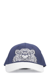 'Colorblock Tiger' baseball cap, Hats Kenzo man