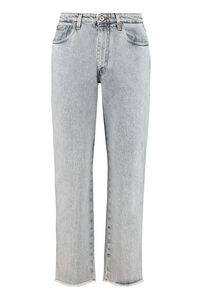 5-pocket jeans, Straight Leg Jeans Miu Miu woman