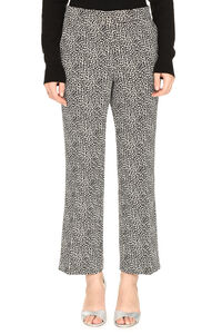 Flared hem cropped trousers, Flared pants MICHAEL MICHAEL KORS woman