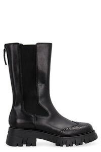 Lennox leather Chelsea boots, Ankle Boots Ash woman