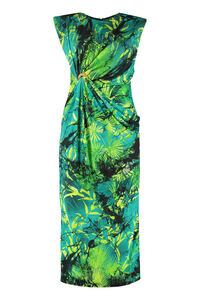 Printed jersey sheath-dress, Printed dresses Versace woman