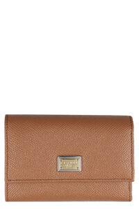 Continental wallet with logo, Wallets Dolce & Gabbana woman