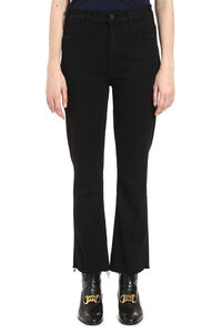 Hustler Ankle Fray jeans, Flared Jeans Mother woman