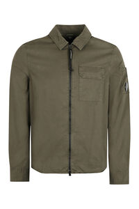 Cotton overshirt, Plain Shirts C.P. Company man
