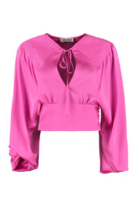 Satin top, Blouses The Attico woman