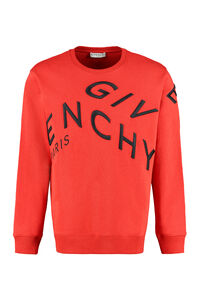 Logo detail cotton sweatshirt, Sweatshirts Givenchy man