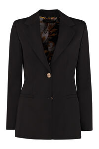 Granite stretch wool blazer, Blazers Versace woman