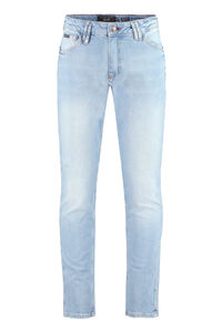 Istitutional slim fit jeans, Slim jeans Philipp Plein man