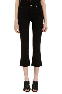 Clar flared cropped jeans, Flared Jeans Department 5 woman