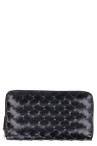Maxi Intreccio zip around wallet, Wallets Bottega Veneta woman