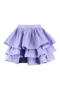Ruffled mini skirt, Mini skirts Elisabetta Franchi woman