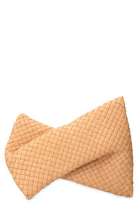 The Crisscross leather clutch, Clutch Bottega Veneta woman