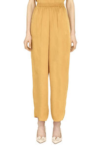 High-waist crêpe trousers, Tapered pants Forte Forte woman