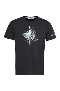 Cotton crew-neck T-shirt, Short sleeve t-shirts Stone Island man